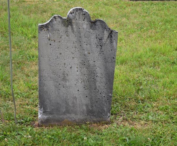 Anthony Geiger tombstone
