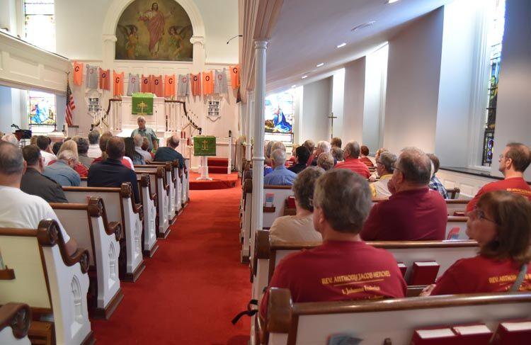 New Hanover Lutheran Interior