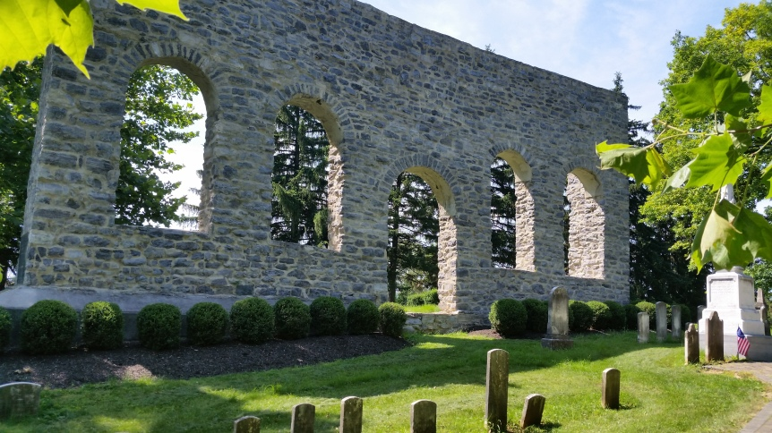 Old German Lutheran Ruins