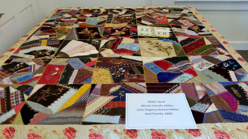 Quilty made by Henkel Millers in 1800's